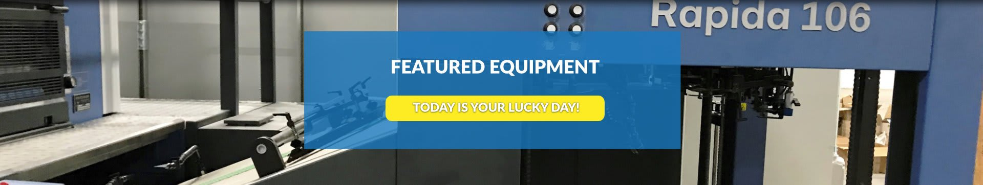 featured equipment