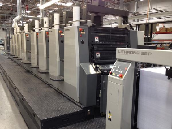 used printing equipment used bindery equipment asset liquidity