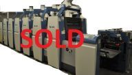 "2009 KBA Rapida RA 75-5-L ALV2 5 Color 24""x29"" + Coater (SOLD)"